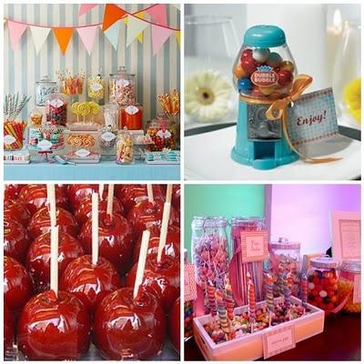 Bar a bonbons-inspiration fête foraine
