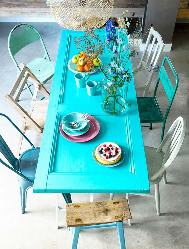 inspiración: sillas de colores