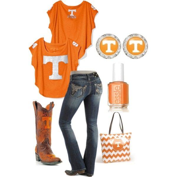 """Tennessee Volunteers Flirties"" by flirties on Polyvore"