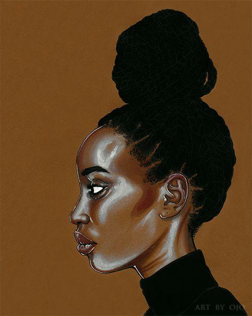 Ojo Agi is a Canadian-born artist of Nigerian descent.