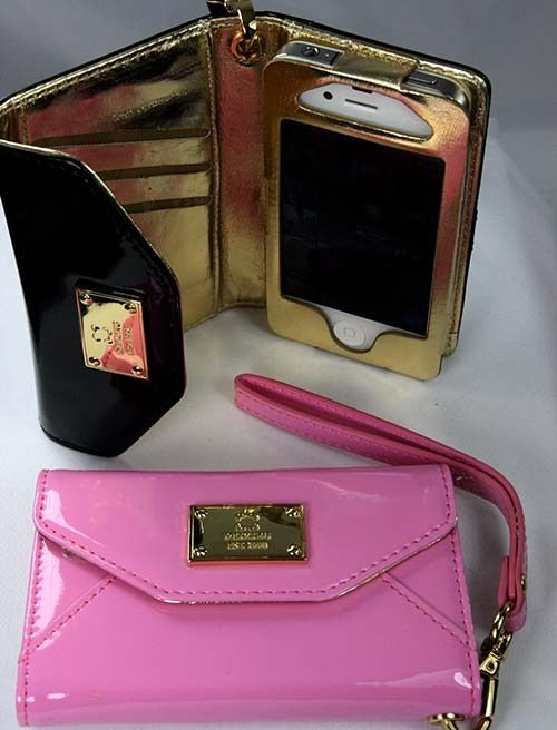 Michael Kors Wallet Clutch for iPhone 4 | eBay #lovethepink #needformy5