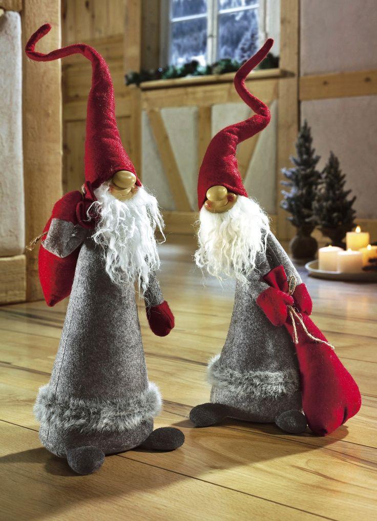 Wichtel, 2er-Set - Weihnachtliche Dekorationen - Weihnachten | Brigitte Hachenburg Exquisit
