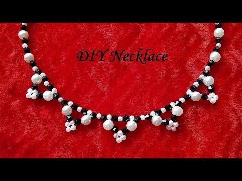 DIY Necklace (perfect gift idea) - YouTube