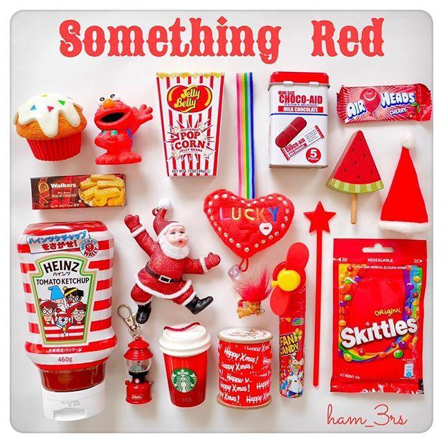 @plazastyle の#somethingred キャンペーン❣️ピンクが多い我が家の中で、子どもたちと楽しみながら赤い色のもの集めをしました😍❤️ #PLAZA#kawaii#cute#candy#miniture#cupcake#collection#christmas#jellybelly#troll#クリスマス#かわいい#クリスマスグッズ#アメリカントイ#ミニチュア#コレクション#サムシングレッド#色集め#スタバ#スターバックス#オーナメント#ジェリービーンズ#インテリア#雑貨#トロール#カップケーキ#おままごと