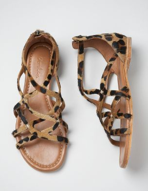 Leopard sandals. Must have...
