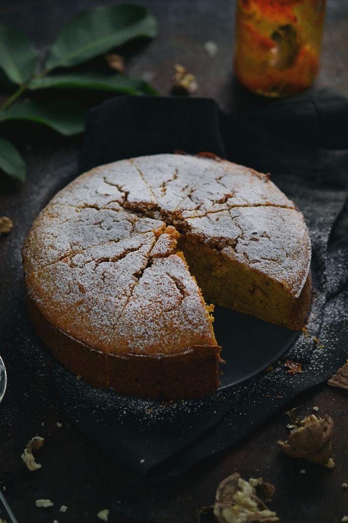Kraina Sosny: ciasto dyniowe z pure z dyni