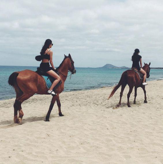 Horse riding on the beach of Sal, Cape Verde - Kaapverdie