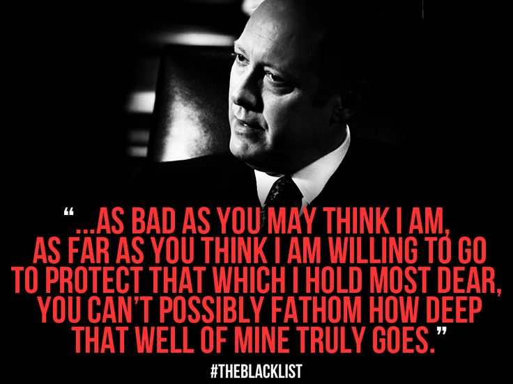 BLACKLIST: Absolutely awesome actor and absolutely the most awesome show!!