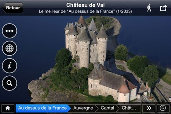 Above France: discover thousands of well-kept secrets and breathtaking sights with 2000 aerial photos, interactive maps, social media sharing,slideshow and wallpapers l #freeapp #iphone #ipad