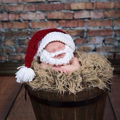 1 шт. деда мороза с бородой рождество ну вечеринку кепка для детей шляпа подаркикупить в магазине Greentree co,ltdнаAliExpress
