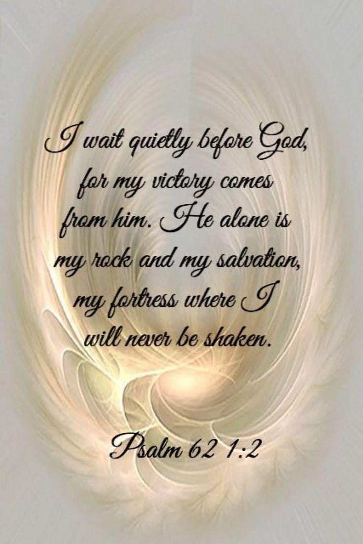 Psalm 62:1-2