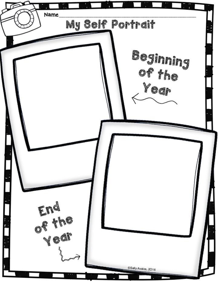 FREEBIE! This self portrait activity includes directions/steps to draw a person. You can put it up for Back to School Night, Open House and/or use it as an assessment for your students' portfolios. You can also use both beginning of the year and end of the year samples to put up for your Open House. You and the parents will love to see the growth they make in both writing and drawing! Have Fun!