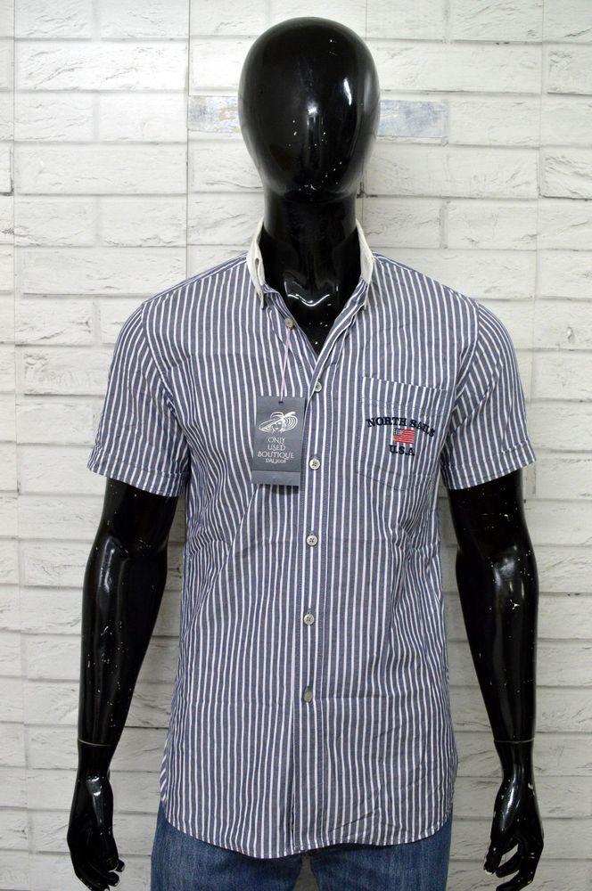 e72be4b42b Camicia Uomo NORTH SAILS Taglia M Shirt Maglia Polo Cotone PARI AL ...