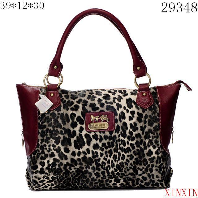 pink handbags | Coach Handbags Embossed Optic Art Patent Leather Leah Purse Bag Tote ...