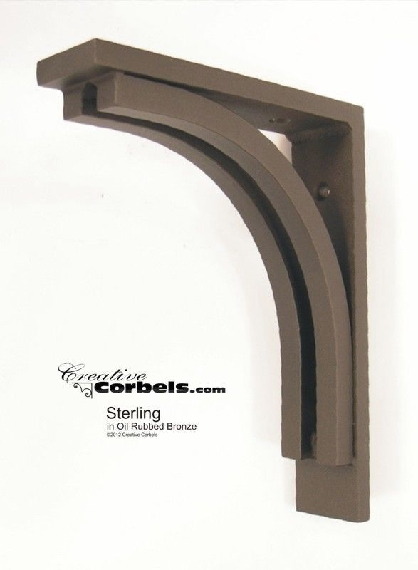 Details About Wrought Iron Corbel Bracket Support For