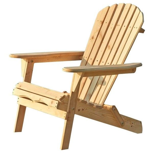 Thy Hom Villeret Adirondack Chair (300 SAR) ❤ Liked On Polyvore Featuring  Home