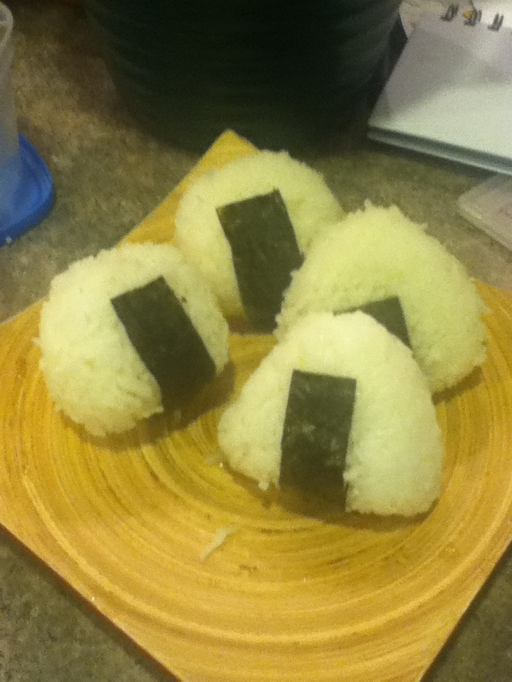 How to Make Onigiri (Rice Ball)