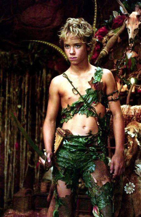 Peter Pan movie costume.