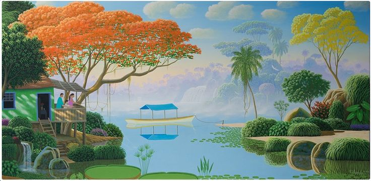 Edivaldo Barbosa de Souza (Itambé, Paraná, 1956) è un pittore brasiliano. Inizia la sua carriera artistica professionale nel 1995,