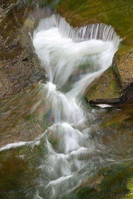Herz Wasserfall