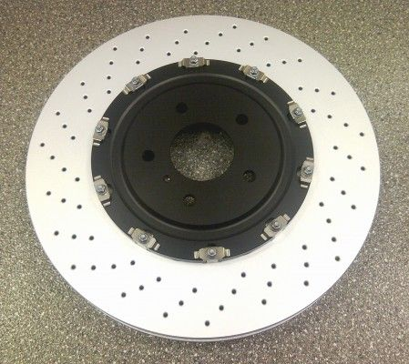 Nissan GT-R (R35) Rotor-Disc Brake, Front (x1) - 40206JF20A