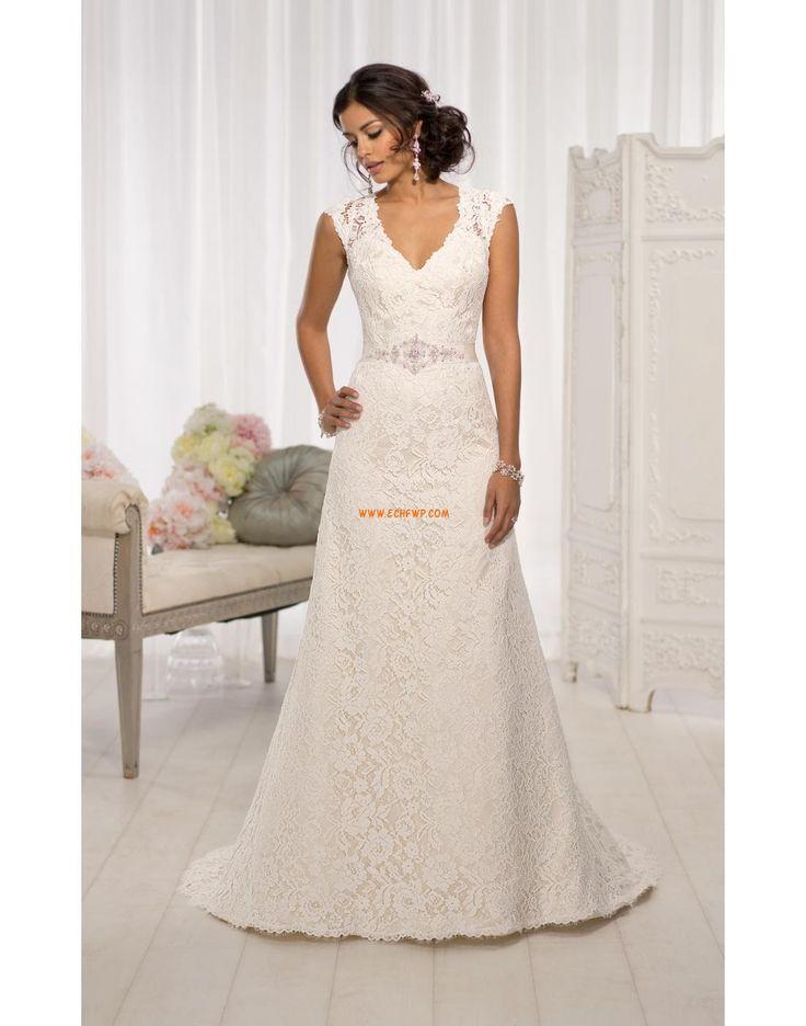 Glamorous & Dramatic Spring Zipper Wedding Dresses 2014