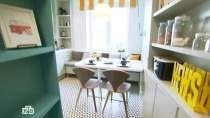 Квартирный вопрос / Кухня с ретро-радиолой под потолком