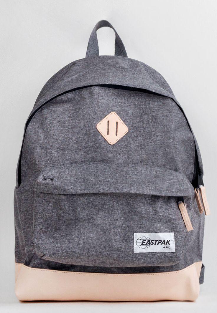 "A.P.C. - eastpak backpack ""grey"""