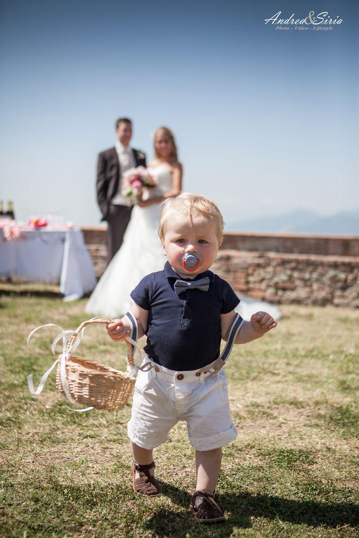 Piccoli uomini crescono... #toscana #love #wedding #andreaesiria #sposi #matrimonio #lari #bimbi