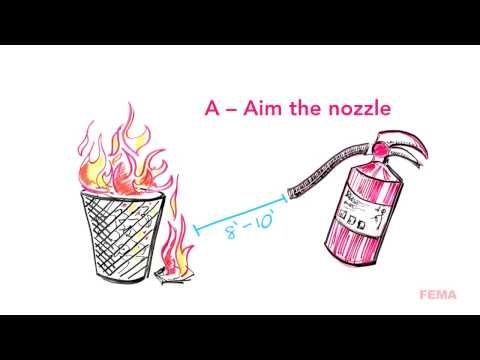 If you run a computer lab, you would do well to train your students how to use a portable fire extinguisher. This training video is one you can use. Forward this to teachers and those with computers, in particular.