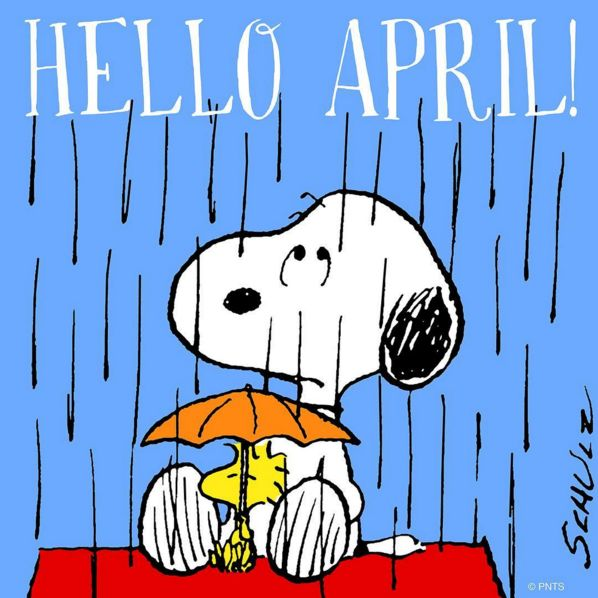 Image result for april showers snoopy