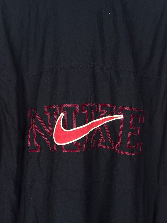 Vintage años 90 NIKE chaqueta Vintage media Nike Swoosh