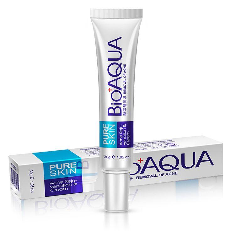 Belleza de La Cara Contra El Acné Impresión Luz Crema de Eliminación de Cicatriz Acné Manchas Marcas de Tratamiento de Blanqueamiento Facial Hidratante Cuidado de La Piel Pura MX2