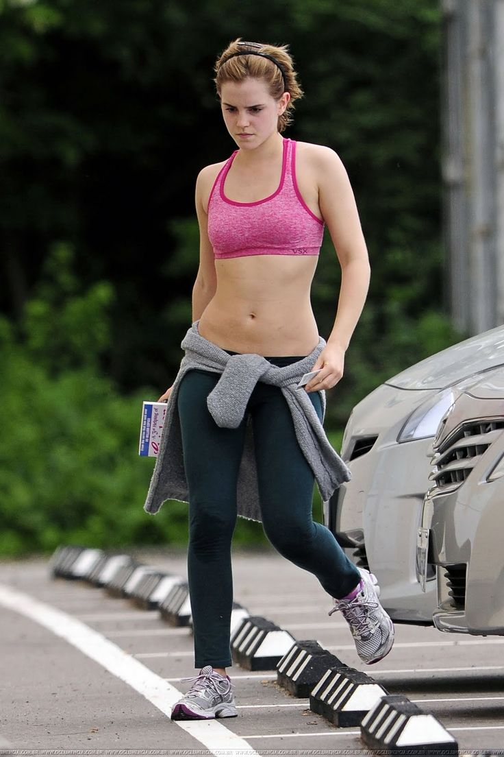 """Emma Watson follows a routine of mild diet and reasonable exercise. Generally, her diet plan involves foods that contain low amounts of sugar, saturated fat and salt. She stays away from junk foods, and opts for fresh fruits, vegetables, leans meats and healthy salads. She says:""""I don't diet and I don't aspire to be super-skinny. It's not inspirational at all for me. I love food...Luckily, I exercise a lot,"""". At Brown, she would do 90-minute workouts daily at the school gym with her friends."""
