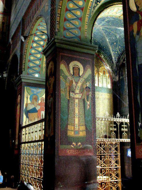 """Gli affreschi della chiesa di San Gabriele"""
