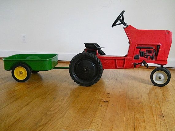 Pedal Toys For Boys : My little girl would just love this antique child s metal