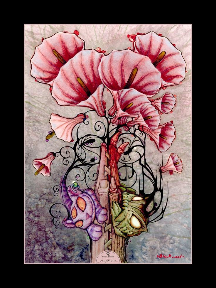 Corpse Blossom by MisterBlackwood.deviantart.com on @deviantART