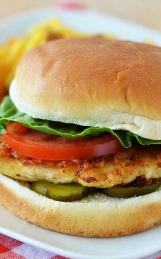 Chic-fil-A Chicken Sandwich (Copycat)