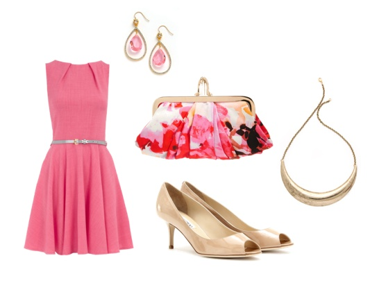 All Things Lovely: Tickled Pink.  Wedding in the summer?Holly'S Style, Style 3, Pretty Pink, Clothing, Tickle Pink, Great Outfit, Fashion Inspiration, Style File, Summer Weddings