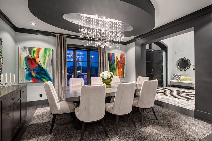 From the www.wegotlites.com exclusive Joshua Marshal collection. This drops of rain chandelier adds beauty to any space it is put in! #lighting #decorating #diningroom