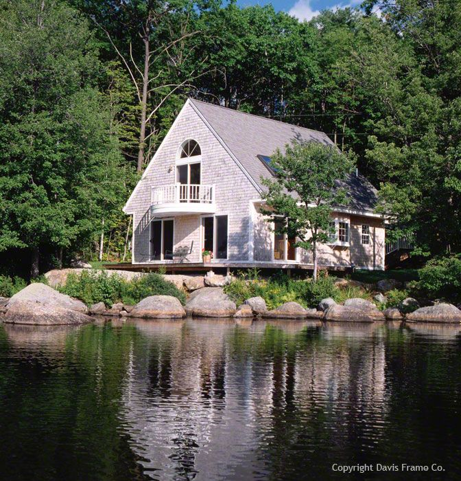 Small Lake Homes: 17 Best Images About Stunning Timber Frame Homes On