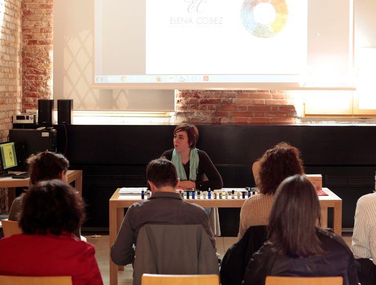 Corso di Aromaterapia, Chakra e Colore a Venezia, primavera 2014