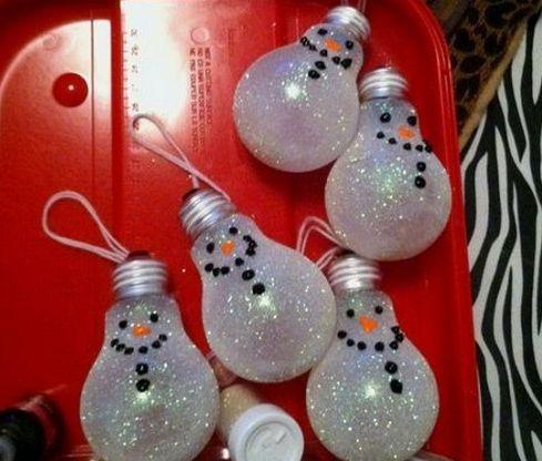 ¿Ya sabes cómo decorar tus lamparas? Acá te doy una idea #Navideña♥ Muy Simple y Sencilla De Hacer..!!☻
