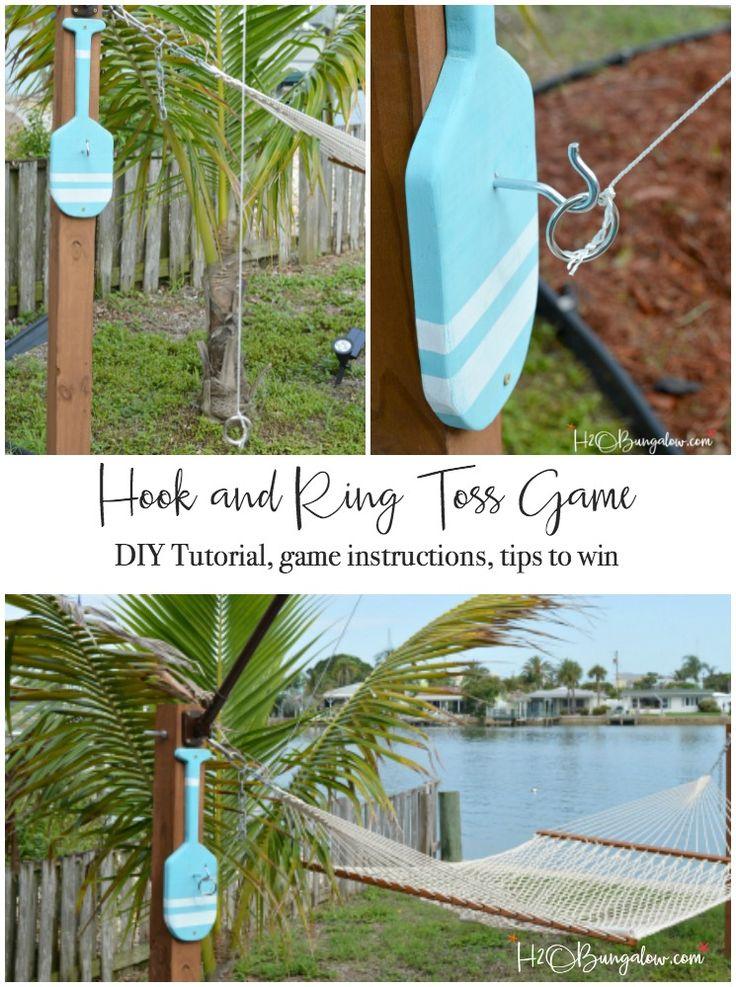 DIY Backyard Games and Activities - Summer Outdoor Family Fun
