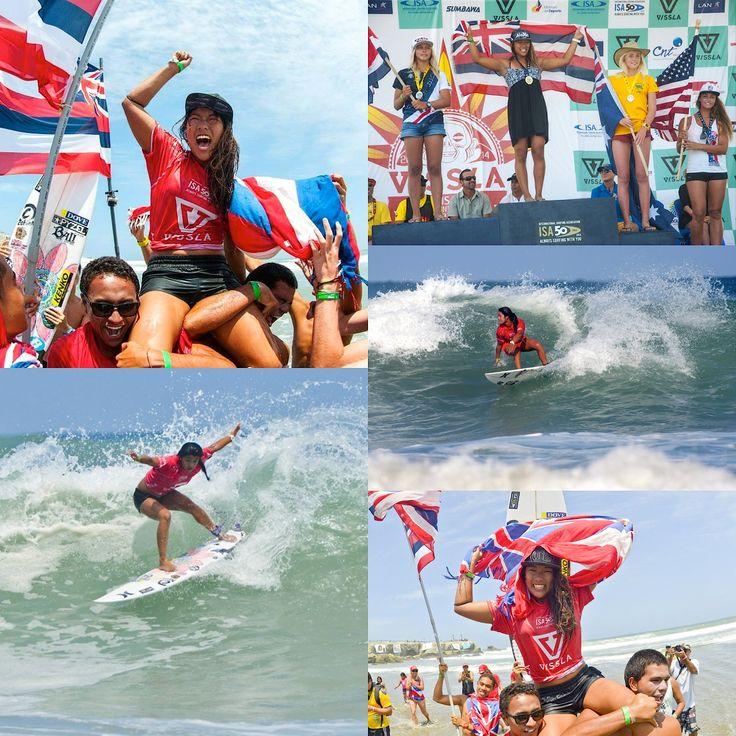 TEAM HAWAII WINS THE 2014 VISSLA ISA WORLD JUNIOR SURFING CHAMPIONSHIP IN ECUADOR #mahinamaeda #hawaii
