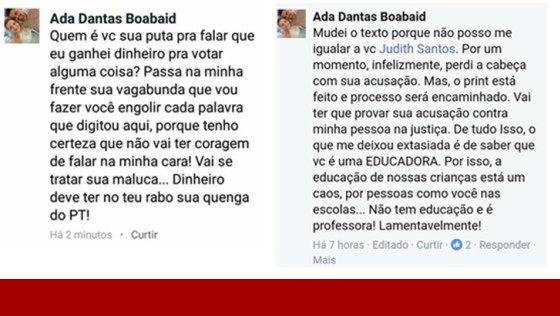 """Vereadora de Porto Velho chama professora de """"vagabunda"""" e completa, """"dinheiro deve ter no teu rabo"""" - Painel Político"""