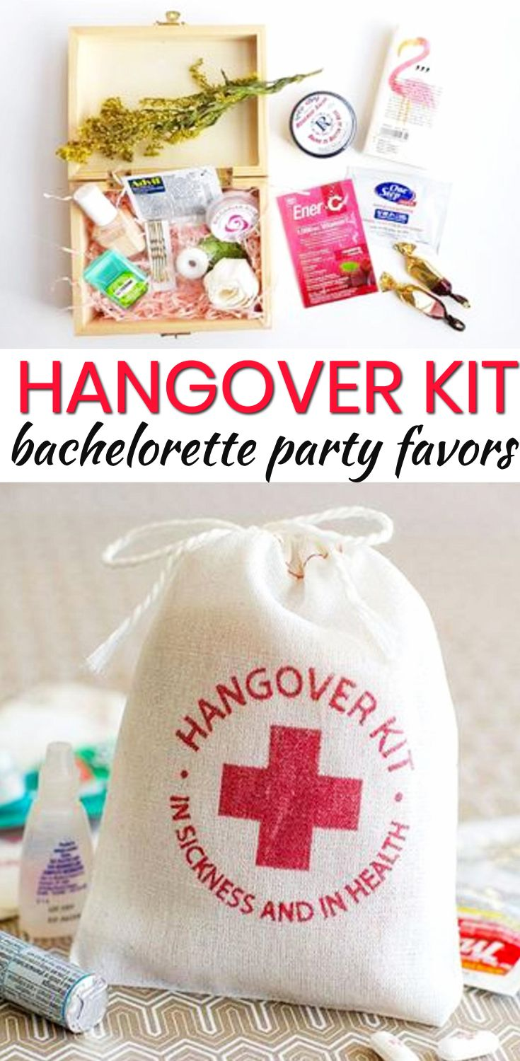 Bachelorette Party Favors! The best Hangover Kit Bachelorette Party Favors! Your bride tribe, friends and guests will love any of these Bachelorette Party Favor Ideas! Amazing ideas including DIY, alcohol, goodie bags, hangover kits, survival kits and more. Find classy, unique, cheap and expensive ideas. Find amazing Bachelorette Party Favors Now! #wedding #bachelorette #bride