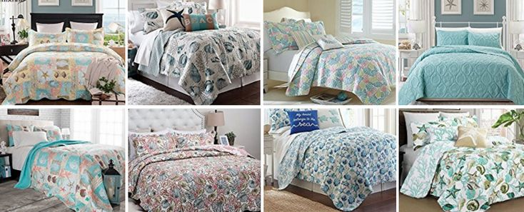 Discover the absolute best seashell bedding sets, comforters, and quilts. When you are looking for seashell themed comforter sets, we have them for you.