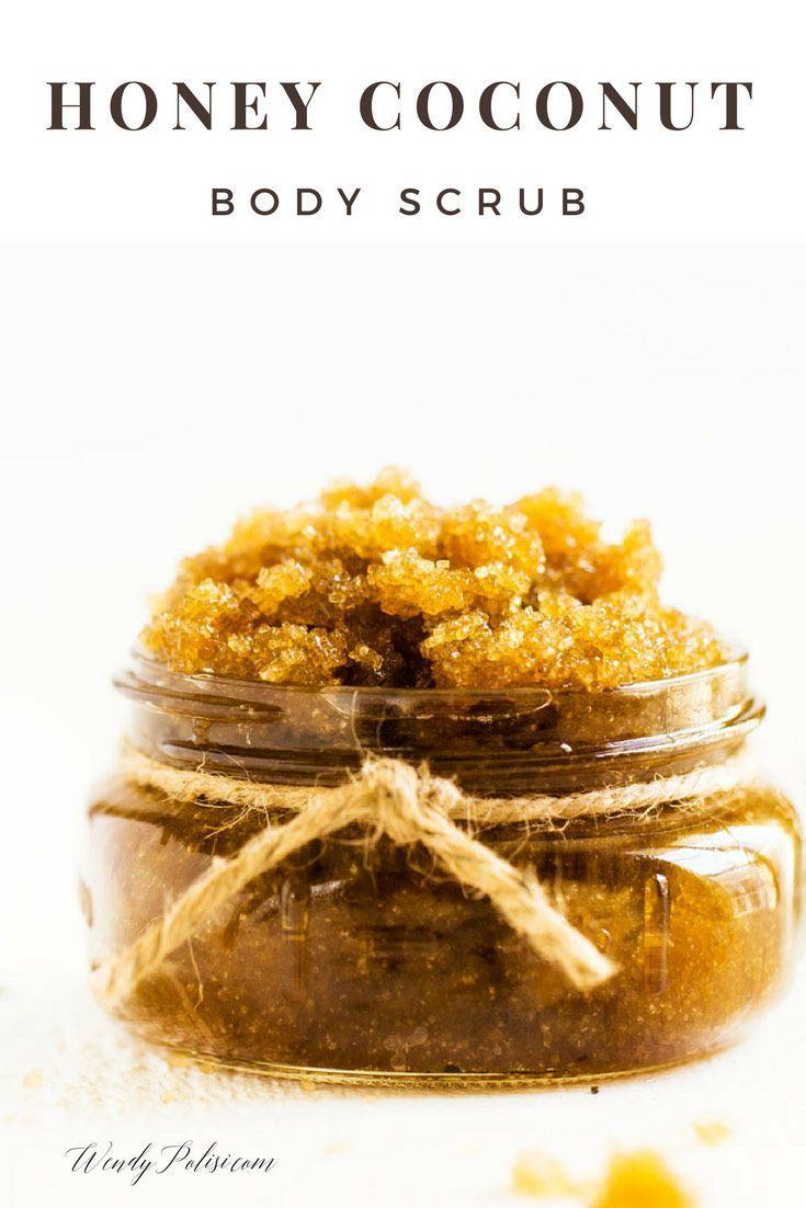 Honey-Coconut Sugar Scrub with essential oils!