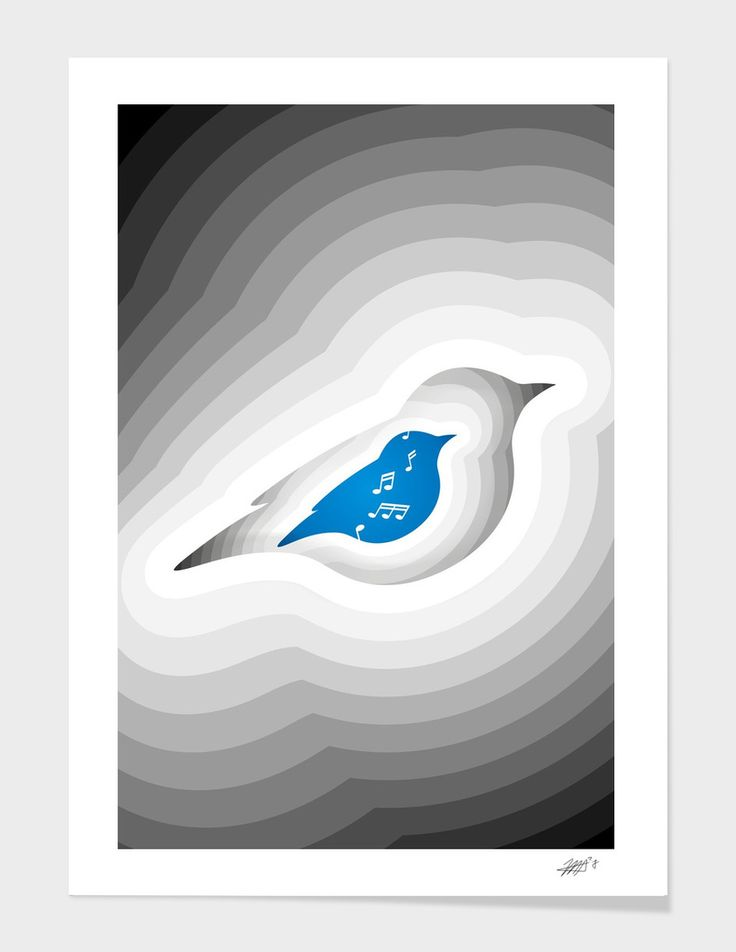 Morning Song - The artwork is available on: https://www.curioos.com/product/print/morning-song